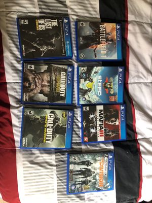 PS4 games for Sale in MONTGOMRY VLG, MD
