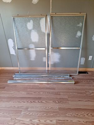 Shower Doors with complete hardware for Sale in Kearneysville, WV