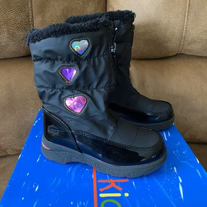 Girls Snow / Rain Boots Size 11, Totes Kids Heartful for Sale in San Diego, CA