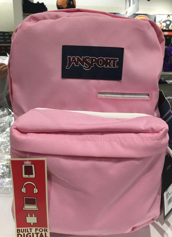 JANSPORT BACKPACK PRISM PINK