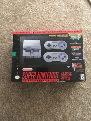 SUPER NINTENDO Classic Edition for Sale in North Bethesda, MD