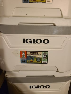 Igloo 60 qt wheeled cooler for Sale in Indianapolis, IN