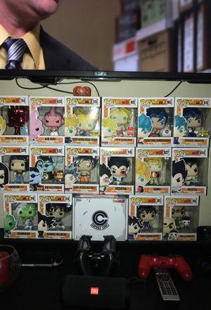 DragonBall Z Funko Pops for Sale in Garland, TX