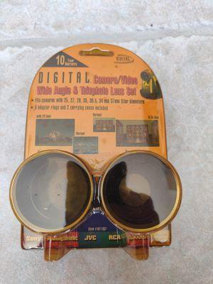 DIGITAL kit-1337. Camera/Video wide angle & Telephoto Lens set for Sale in Golden Oak, FL