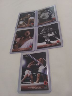 🏆⭐🏆⭐🏆⭐🏆⭐🏆⭐Muhammed Ali 5 Boxing Card Lot 🏆⭐🏆⭐🏆⭐🏆⭐🏆⭐🏆⭐ for Sale in Fort Worth, TX