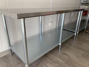 "Stainless Steel Work Table 30"" x 72"" size for Sale in Riverside, CA"
