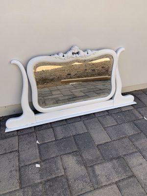 White antique mirror for Sale in Scottsdale, AZ