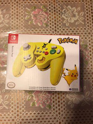 Pikachu switch controller for Sale in Huntington Beach, CA