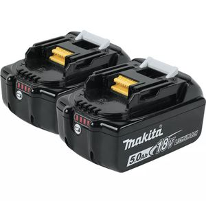 Makita BL1850B-2 18 Volt LXT Lithium-Ion 5.0Ah Battery, 2 Pack We are an authorized dealer of Makita for Sale in Springfield, VA
