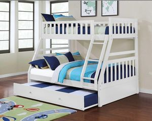 Twin over full bunk bed for Sale in Fairburn, GA