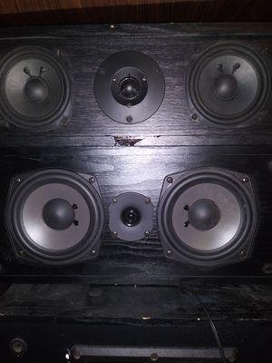 """Onkyo speakers 3.5""""n 4.5"""" for Sale in Salt Lake City, UT"""