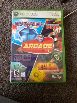 Xbox 360 arcade volume 1 for Sale in San Bernardino, CA