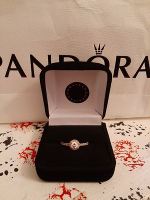 New rosegold classic elegance pandora ring for Sale in Philadelphia, PA
