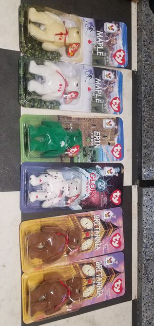 Brand new Ty Beanie Babies. Two groups. Each group I'm asking $250 for Sale in Morton Grove, IL