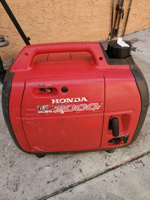 Honda eu2000i generator for Sale in Bell Gardens, CA