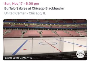 Chicago BlackHawks Tickets! Great seats! for Sale in Lake Worth, FL