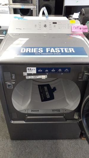 Bravos XL dryer 8.8 cubic feet cabrio Whirpool washer 5.3 cubic feet grat deal for Sale in Haines City, FL