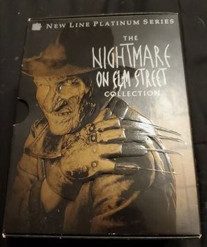 The Nightmare on Elm Street Collection (DVD, 1999, 8-Disc Set) for Sale in San Francisco, CA