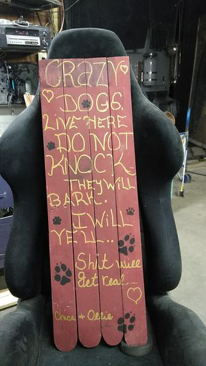Wood sign for Sale in Jackson, NJ