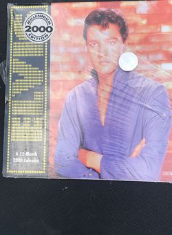 2000 Elvis Calendar for Sale in Douglasville,  GA