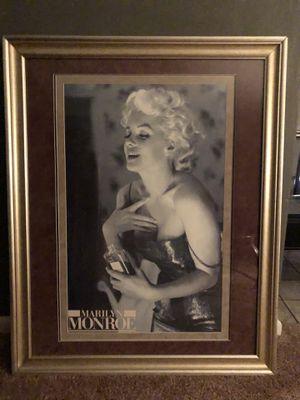 Marilyn Monroe Framed Picture for Sale in Fort Lauderdale, FL