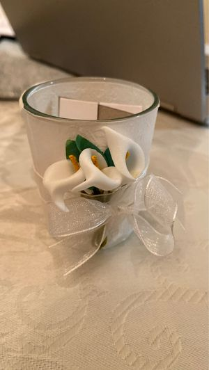 Bridal shower / wedding favor candle holders for Sale in Yonkers, NY