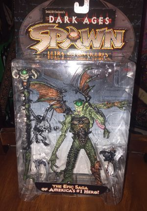 SPAWN DARK AGES SPELLCASTER ULTRA ACTION FIGURES for Sale in Las Vegas, NV
