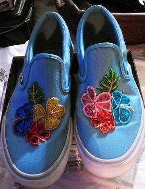 Woman's vans sneakers for Sale in Huntington Beach, CA
