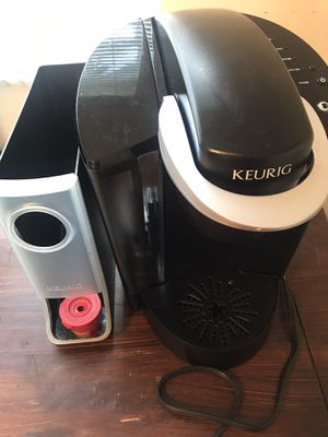 Keurig Coffee Maker & Storage Container for Sale in Miami Lakes, FL