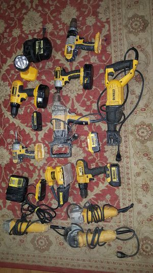 Assorted DeWalt Tools and batteries for Sale in Manassas, VA