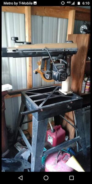 Dewalt powershop table saw for Sale in Elyria, OH
