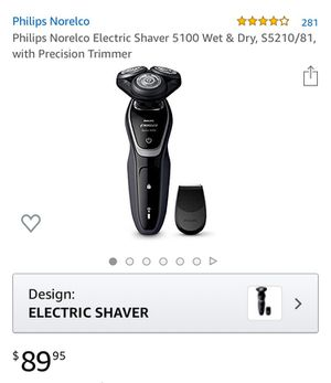 Phillips Norelco Electric shaver for Sale in Corona, CA