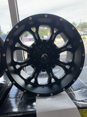 Fuel Wheels 20x10 For Jeep,Dodge Ram 1500 BP:5x127 5x139.7 for Sale in Tampa, FL