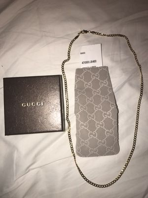 18k gold 22 in Gucci chain for Sale in San Diego, CA