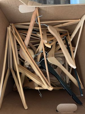 Free Wooden hangers for Sale in Buena Park, CA
