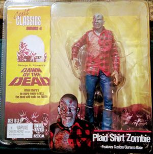 Dawn Of The Dead Neca Cult Classics Series 4 Action Figure Plaid Zombie for Sale in Surprise, AZ