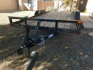 18x7 heavy duty car hauler for Sale in El Mirage, AZ
