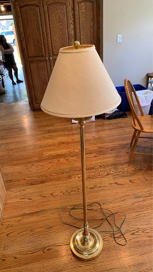 Brass floor lamp for Sale in Los Altos, CA