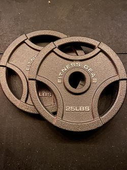 25lb Olympic Plate Pair for Sale in Reedley,  CA