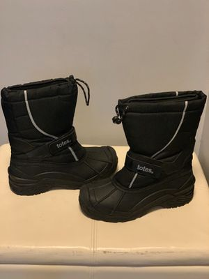 Totes black men's size 9 snow boots for Sale in Hanover Park, IL