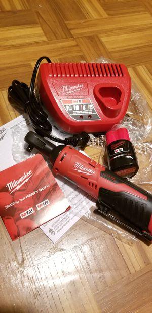 "Milwaukee 3/8"" Ratchet kit M12 for Sale in Norwalk, CA"
