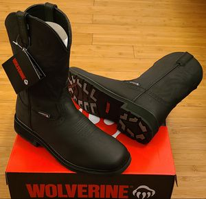 Wolverine Work Boots size 8.5,9,9.5,10,10.5 and 11 for Men. for Sale in Compton, CA