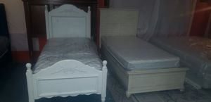 Twins bed frames and mattress for Sale in Renton, WA