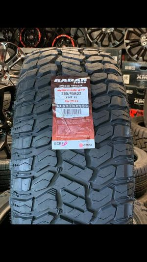 MONKEY wheels and tires 285 45 22 for Sale in Phoenix, AZ