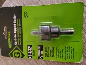 GREENLEE HOLE SAW CARBIDE, UNIBITS, PRECIO POR UNIDAD. for Sale in Los Angeles, CA