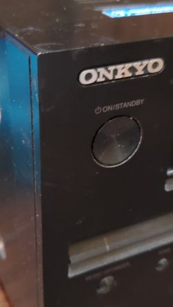 onkyo tx-nr509. 4 hdmi, 5ch, working great.Home theater receiver with 3D-ready HDMI switching, {url removed} remote for Sale in Plano,  TX