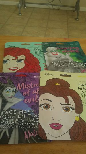 Disney face mask. For smooth skin for Sale in Orlando, FL