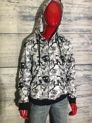 Looney tunes zip up hoody ( y29, shirt pants shoes Jordan's Nike jacket for Sale in Romeoville, IL