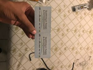2 Sea world and aquatica tickets for Sale in Port St. Lucie, FL