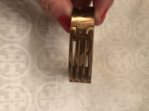 Authentic Rose Gold Tory Burch Bangle